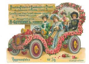 Cartolina Chianti Castelvecchi